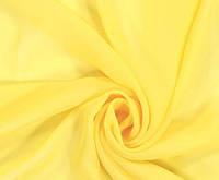Шторный шифон Жолтый, вуаль