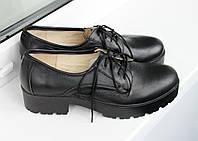 Женские кожаные туфли Vikttorio