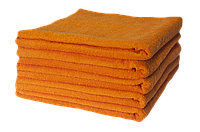 Полотенце махровое Lotus оранжевое 70*140