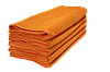 Полотенце махровое Lotus оранжевое 70*140 оптом, фото 2