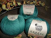 Gazzal Baby Cotton(Беби коттон) 3426 изумрудный