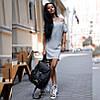 Платье женское короткое повседневное трикотажное P1219