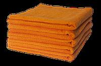 Полотенце махровое Lotus 70*140 оранжевое