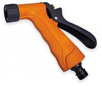 Пистолет для полива регулируемый короткий, металл. Bradas gold line