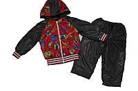 Утепленный костюм на девочку Совы 1-5 лет