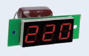 Вольтметр действующего значения переменного тока Вм-19 (220в) однофазный без корпуса