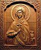Икона резная Святая Анастасия Узорешительница поясная