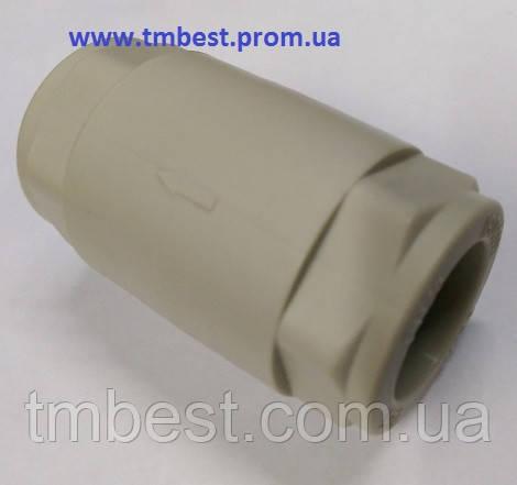Клапан обратный 20 полипропиленовый ППР, фото 2
