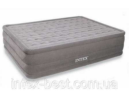 Двуспальная надувная кровать Intex 66958 (152х203х46 см.) со встроенным электрическим насосом, фото 2