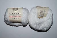 Gazzal Baby cotton - 3432 белый