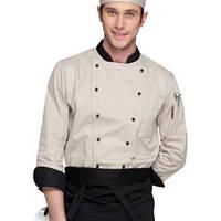 Китель для поваров и официантов с длинным рукавом,униформа поварская