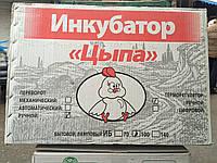 Инкубатор для яиц Цыпа-Харьков, ОБШИТ ПЛАСТИКОМ, ручной переворот, электромеханический регулятор, закладка 100