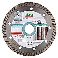 Круг алмазный Distar Turbo Bestseller Universal 125 мм алмазный диск по бетону, граниту и тротуарной плитке
