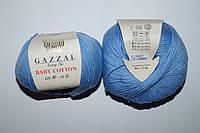 Gazzal Baby cotton - 3423 голубой