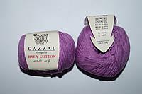 Gazzal Baby cotton - 3414 темно сиреневый