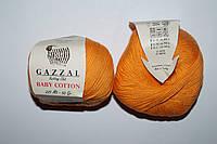 Gazzal Baby cotton - 3416 темно желтый