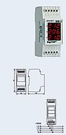 Вольтметр действующего значения переменного тока Вм-3 трехфазный на DIN-рейку (red, green, blue)