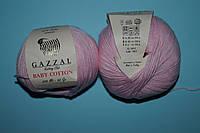 Gazzal Baby cotton - 3411 розовый