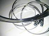 Хомут червячный Norma W2 60-80 мм (нержавеющий), фото 4