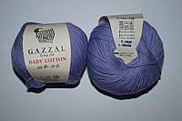 Gazzal Baby cotton - 3420 лаванда