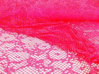 Сетка трикотажная Neon (розовый) (арт. 05673)