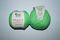 Gazzal Baby cotton - 3427 салатовый