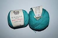 Gazzal Baby cotton - 3426 изумрудный