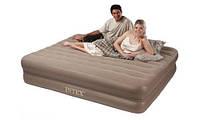 Двуспальная надувная кровать Intex 66754 (2-in-1 Bed) (152х203х23 см.), фото 1