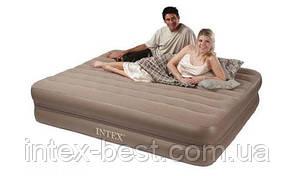 Двуспальная надувная кровать Intex 66754 (2-in-1 Bed) (152х203х23 см.), фото 2