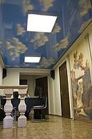 Фотопечать на глянцевых натяжных потолках