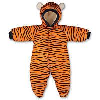 "Детский теплый комбинезон ""Тигр"" для малышей"