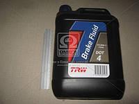 Жидкость тормозная DOT-4 5,0L (производитель TRW) PFB405