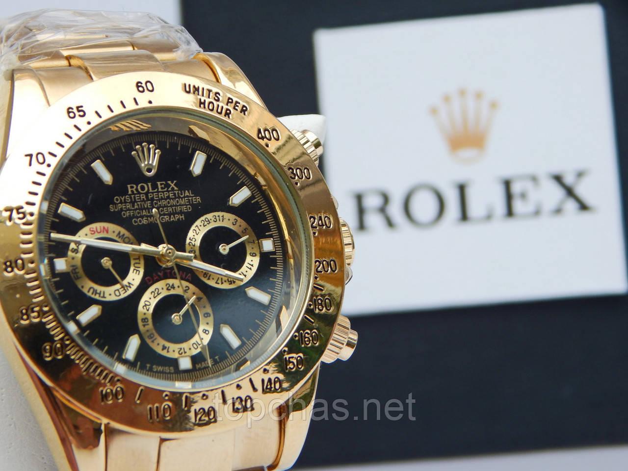 efeed7ad2ac4 Мужские механические наручные часы Rolex Daytona со всеми работающими  (активными) циферблатами