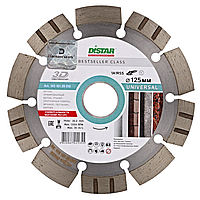 Круг алмазный Distar 1A1RSS/C3 HIT Bestseller Universal 125мм сегментный алмазный диск по бетону Дистар Украин