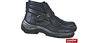 Рабочие ботинки кожаные с пряжкой для защиты от металлических опилков Reis