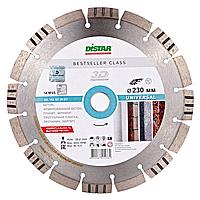 Круг алмазный Distar 1A1RSS/C3 HIT Bestseller Universal 232 мм сегментный алмазный диск по бетону