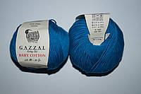 Gazzal Baby cotton - 3428 темная бирюза