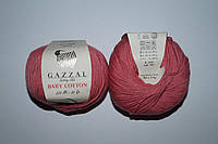 Gazzal Baby cotton - 3435 розово коралловый