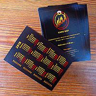 Изготовление карманных календариков под заказ