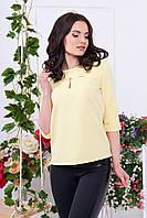 """Женская блуза """"Орландо"""" -желтый"""