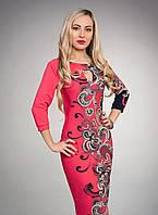 """Модное молодежное платье - футляр - """"Моника""""  код 455"""