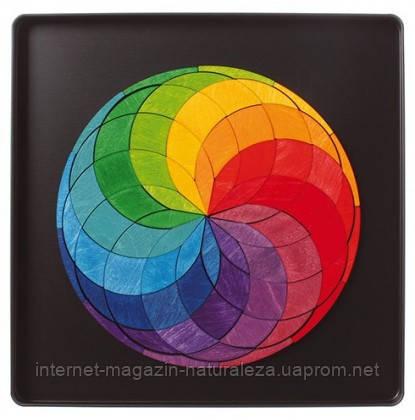 Магнитная мини мозаика ТМ Grimms Разноцветная спираль