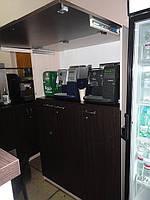 Изготовление  стойки для кофейных аппаратов на заказ.