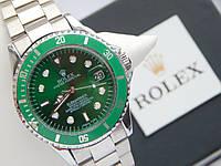 Мужские механические наручные часы Rolex Submariner на металлическом ремешке с датой