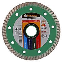 Круг алмазный Turbo Baumesser Stein Pro 125 мм алмазный диск по граниту, песчанику и кирпичу