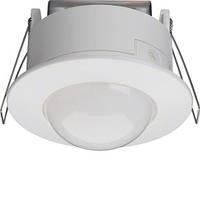 Датчик движения потолочный в фальш потолок (360 град, 8А, 230V,IP21) белый Hager EE805