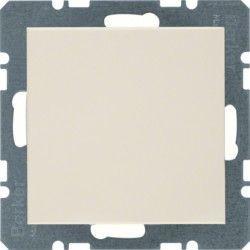 Заглушка с центральной панелью без цоколя белая Berker S.1 10098982