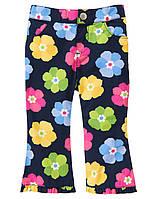 Детские летние брюки для девочки 12-18, 18-24 месяца