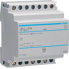 Защитный трансформатор (230В,16 Вт) Hager ST312