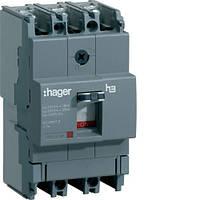Корпусный автоматический выключатель (3p, 100А, x160) Hager HDA100L